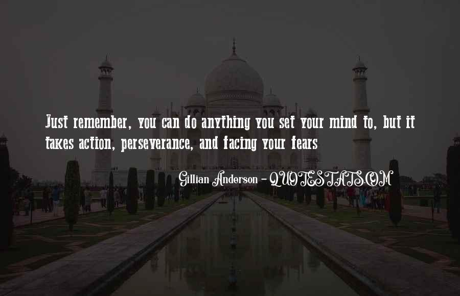 Quotes About Facing Fears #1773847