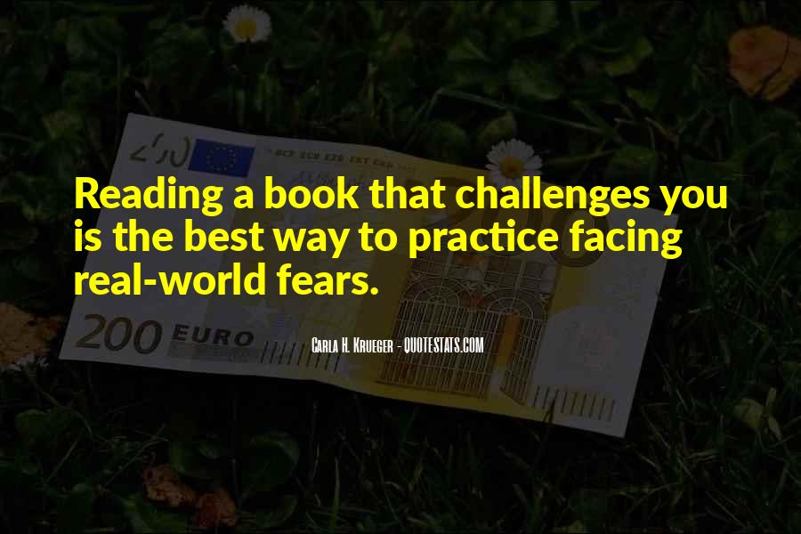 Quotes About Facing Fears #1839172