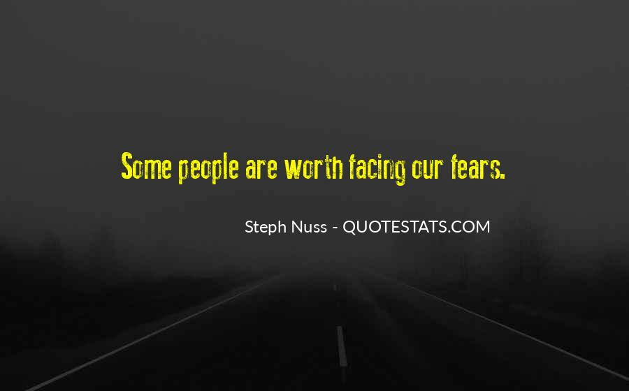 Quotes About Facing Fears #386306
