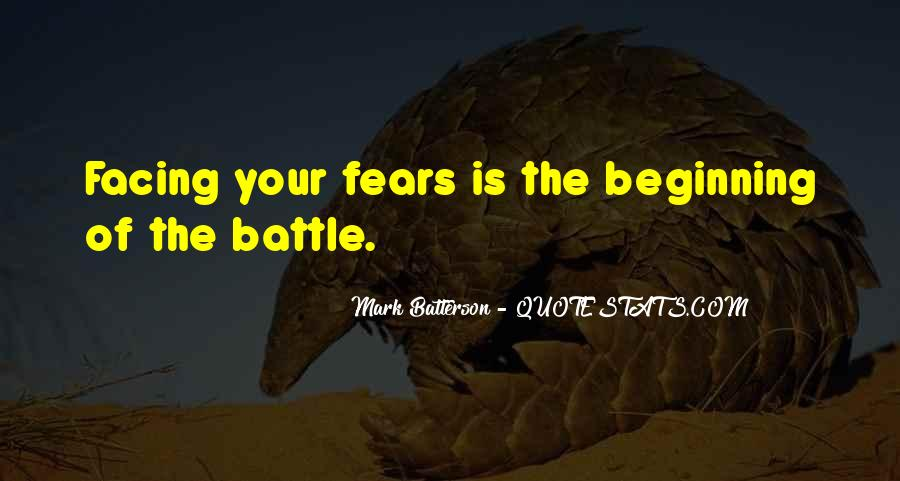 Quotes About Facing Fears #686462