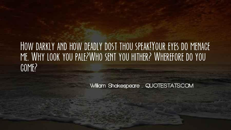 Quotes About Deadly Eyes #1854738