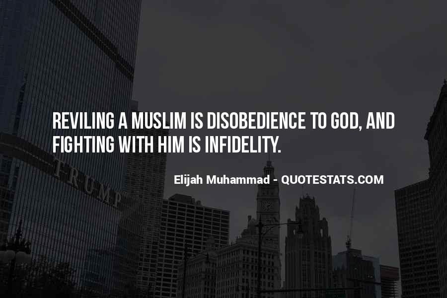 Quotes About Disobedience To God #1017146