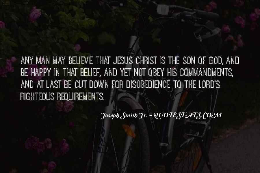 Quotes About Disobedience To God #538652