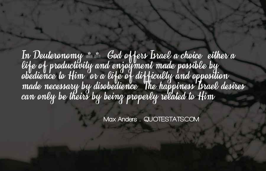 Quotes About Disobedience To God #806328