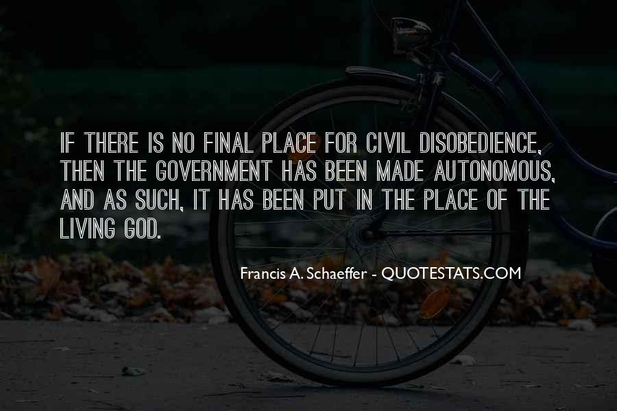Quotes About Disobedience To God #987196