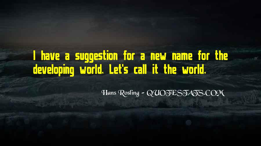 Quotes About New Name #212940