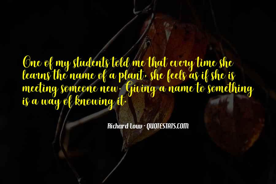 Quotes About New Name #417082