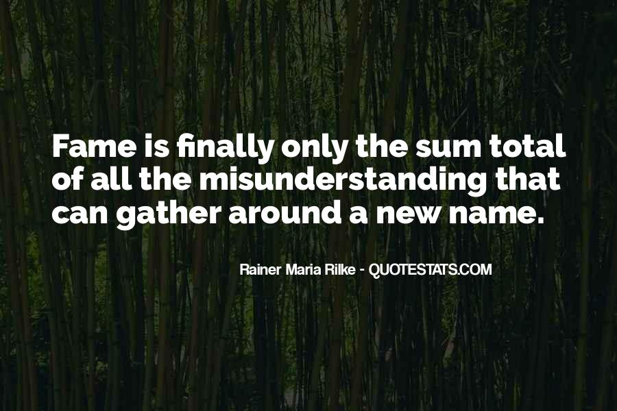 Quotes About New Name #442295