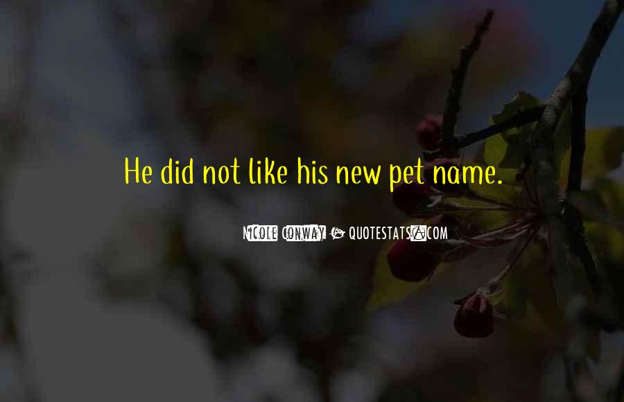 Quotes About New Name #452358