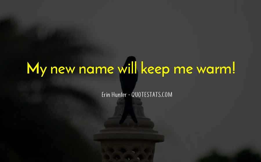 Quotes About New Name #677608