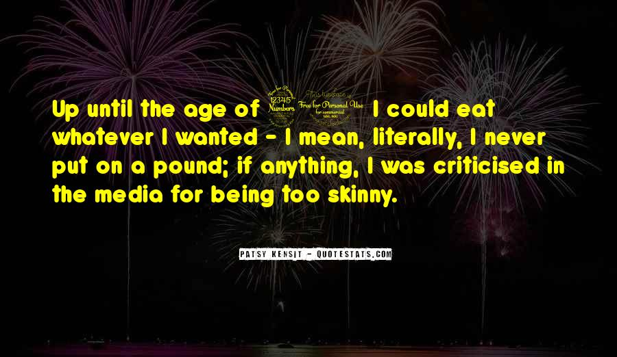 Quotes About Not Being Skinny #608997