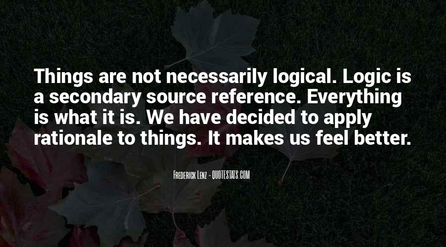 Quotes About Rationale #1253856