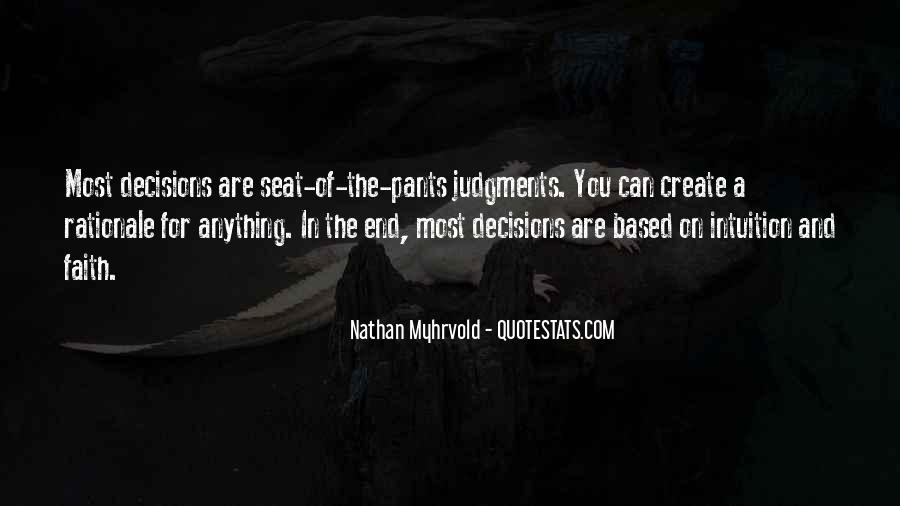 Quotes About Rationale #1733470