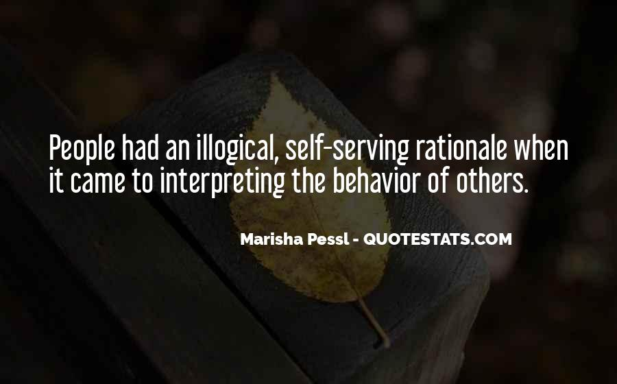 Quotes About Rationale #842782