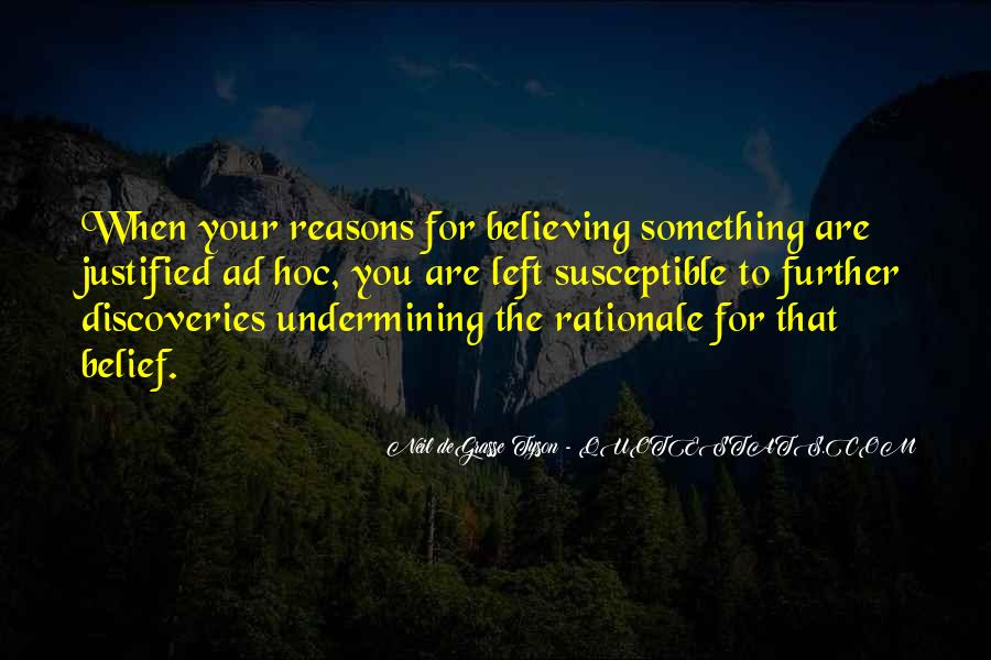 Quotes About Rationale #939429