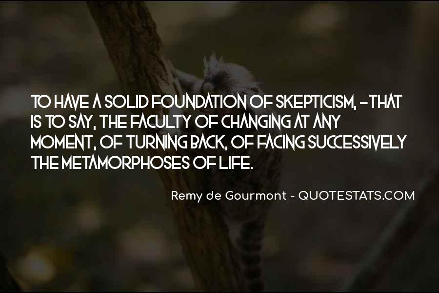 Quotes About Solid Foundation #1334739