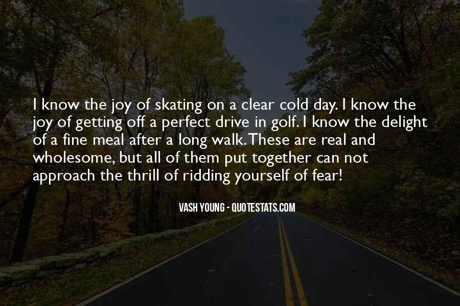 Quotes About Getting Over Fear #156470