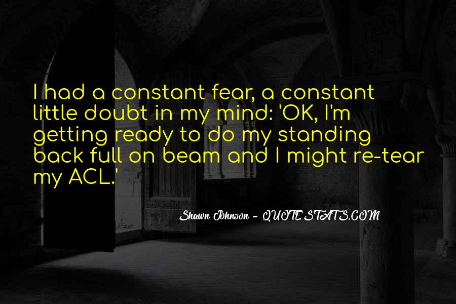 Quotes About Getting Over Fear #291209