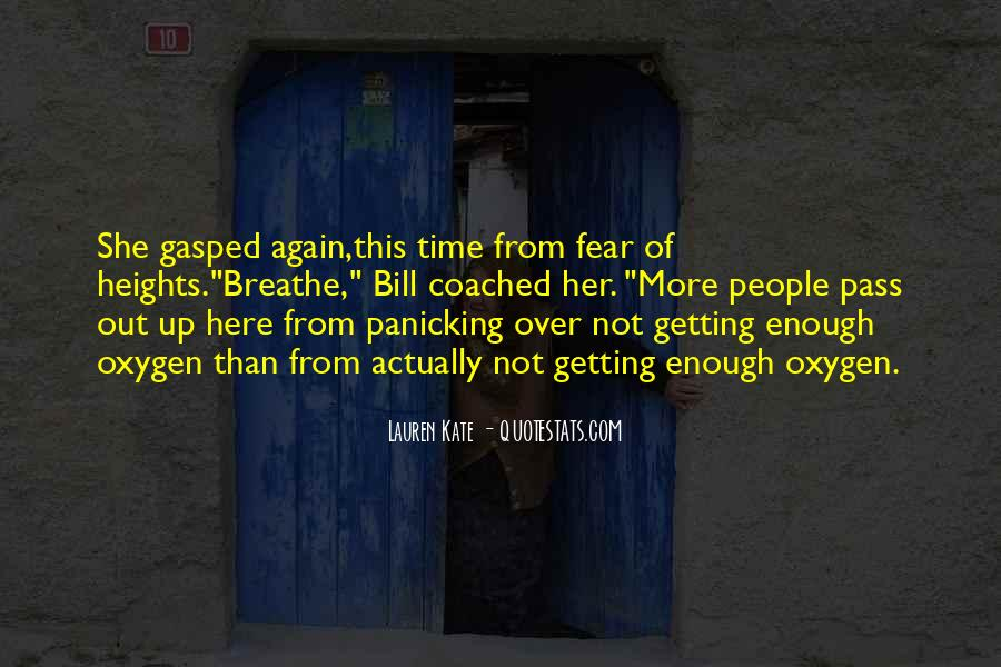 Quotes About Getting Over Fear #622271