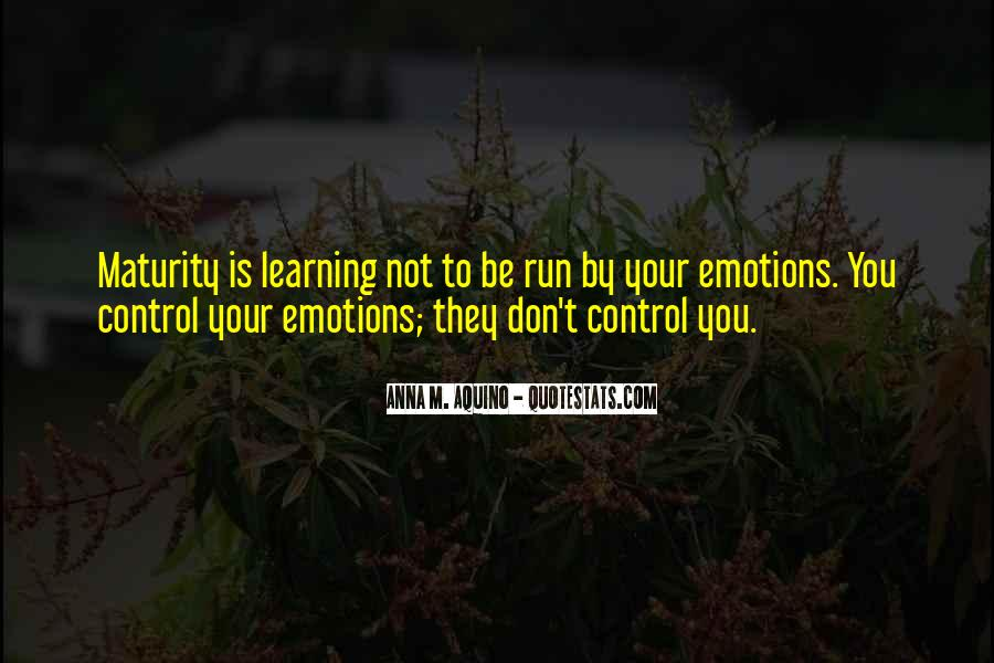 Quotes About Emotions And Learning #1068973
