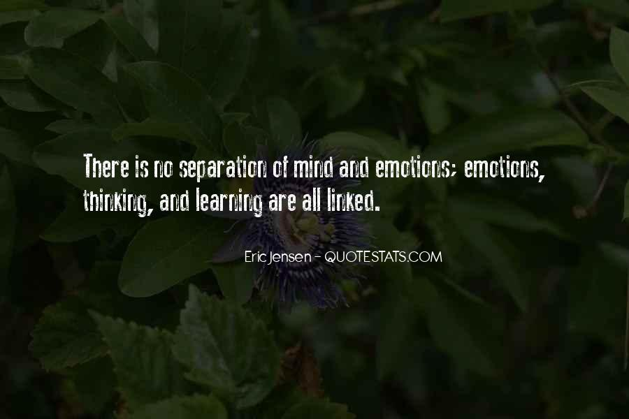 Quotes About Emotions And Learning #1144928