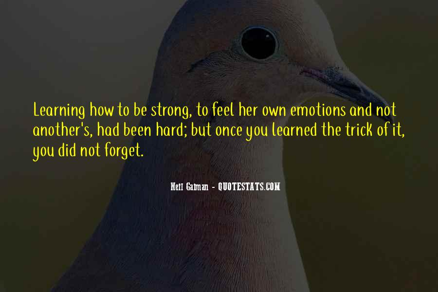 Quotes About Emotions And Learning #1798527