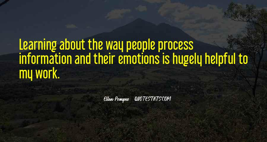 Quotes About Emotions And Learning #541455