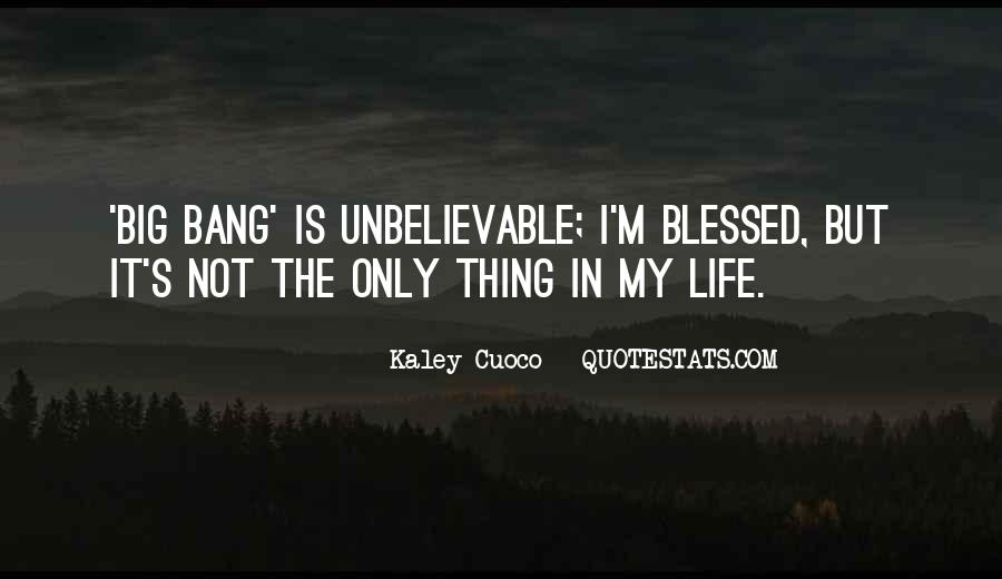 Quotes About Blessed Life #100604