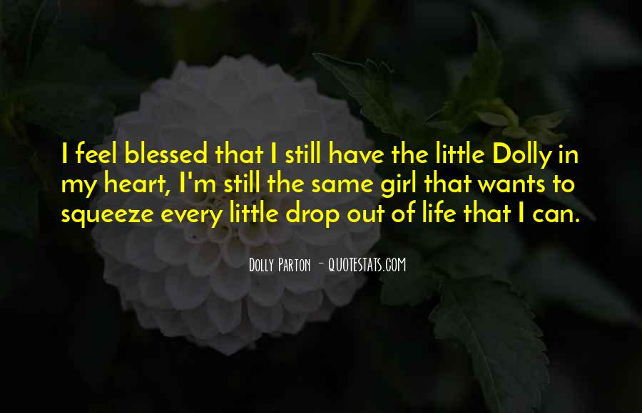 Quotes About Blessed Life #127907