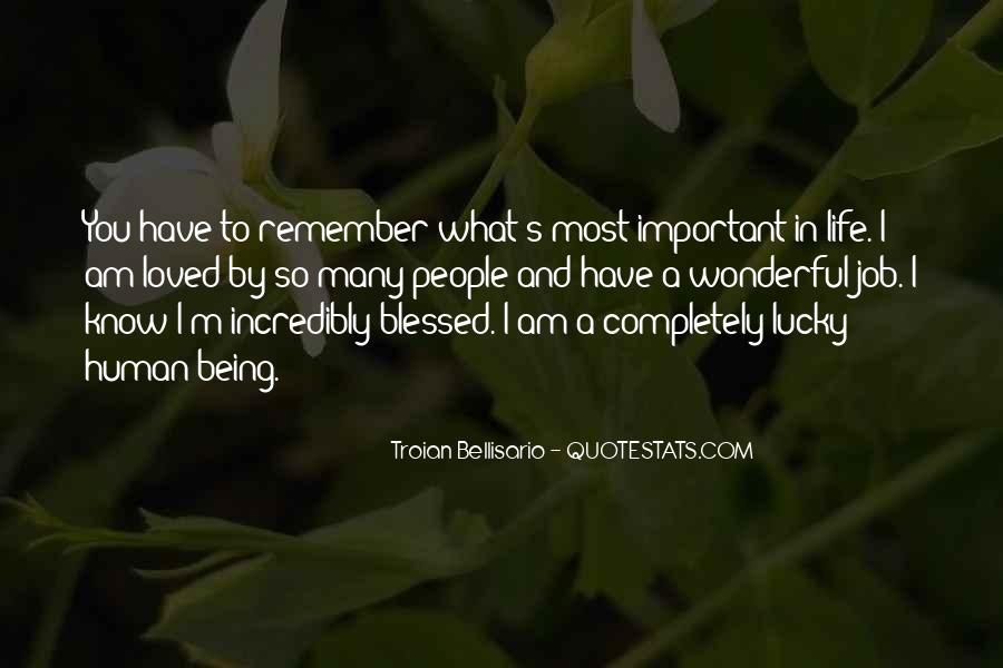 Quotes About Blessed Life #141402