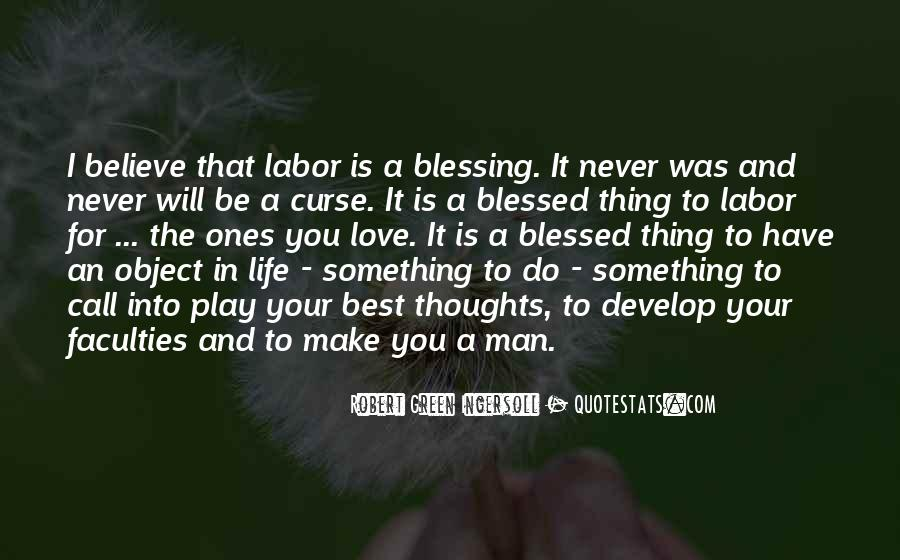 Quotes About Blessed Life #148670