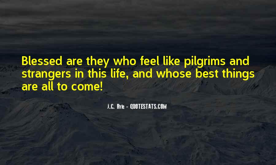 Quotes About Blessed Life #162645