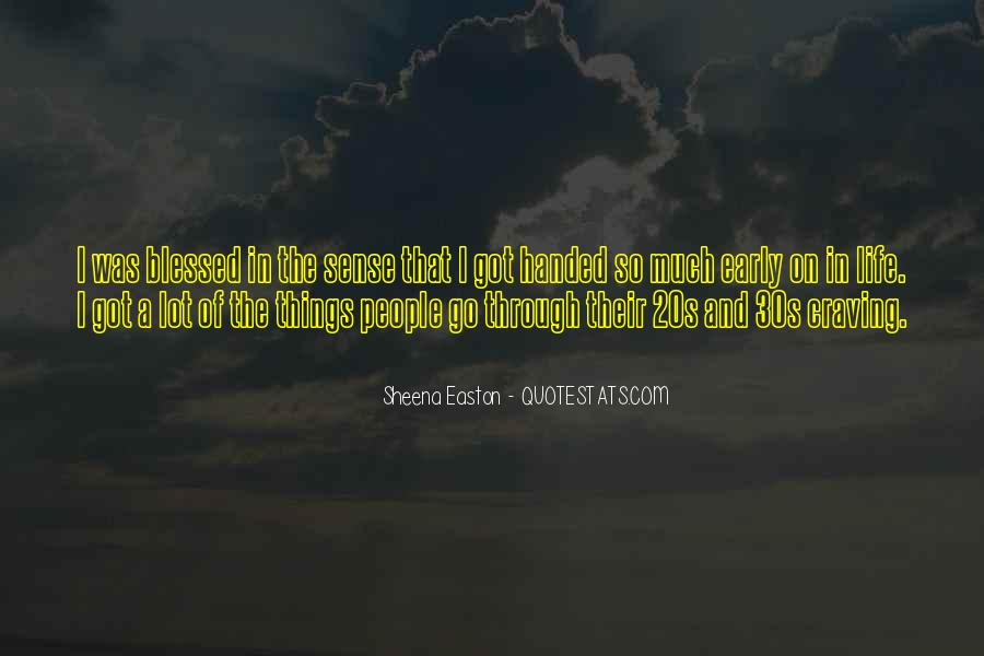 Quotes About Blessed Life #185367