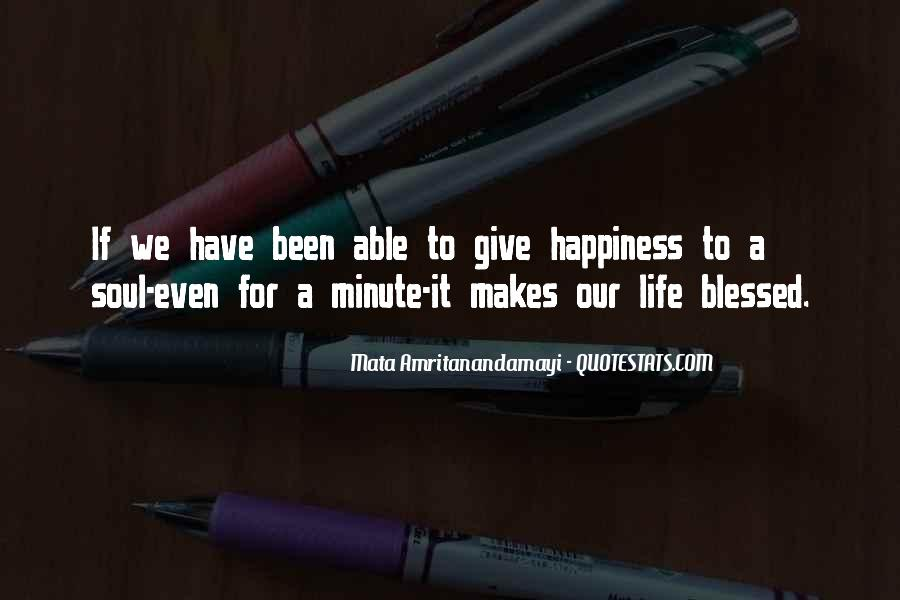 Quotes About Blessed Life #248214