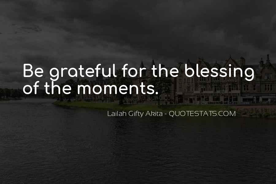 Quotes About Blessed Life #256970