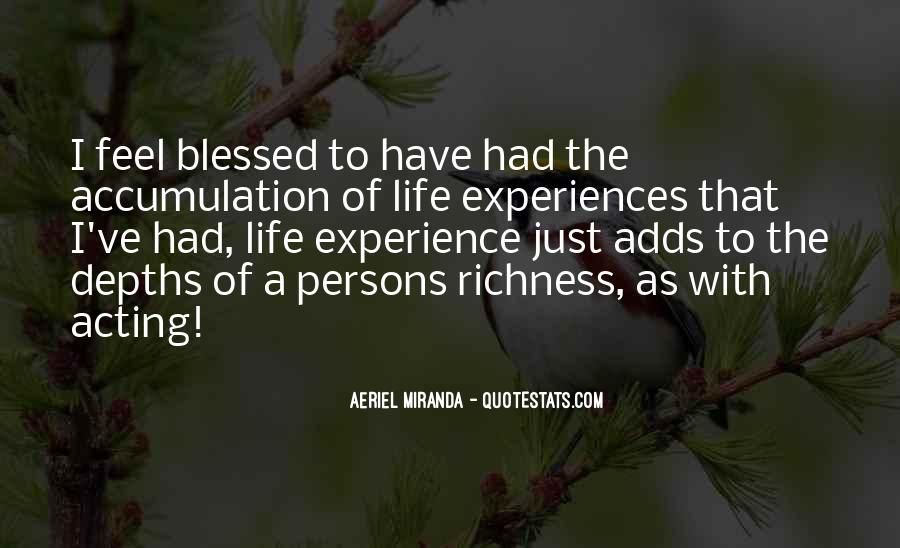 Quotes About Blessed Life #283916