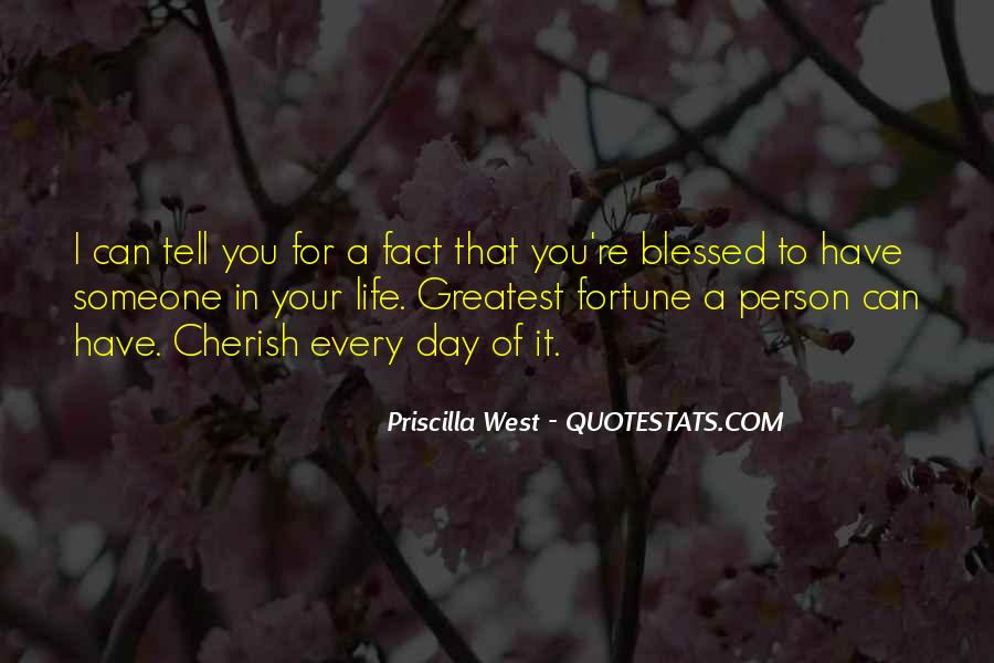 Quotes About Blessed Life #342755