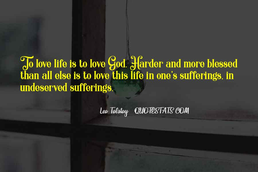 Quotes About Blessed Life #35611