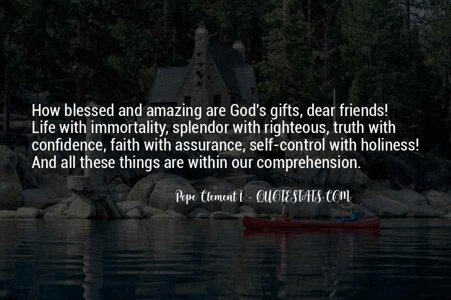 Quotes About Blessed Life #452000