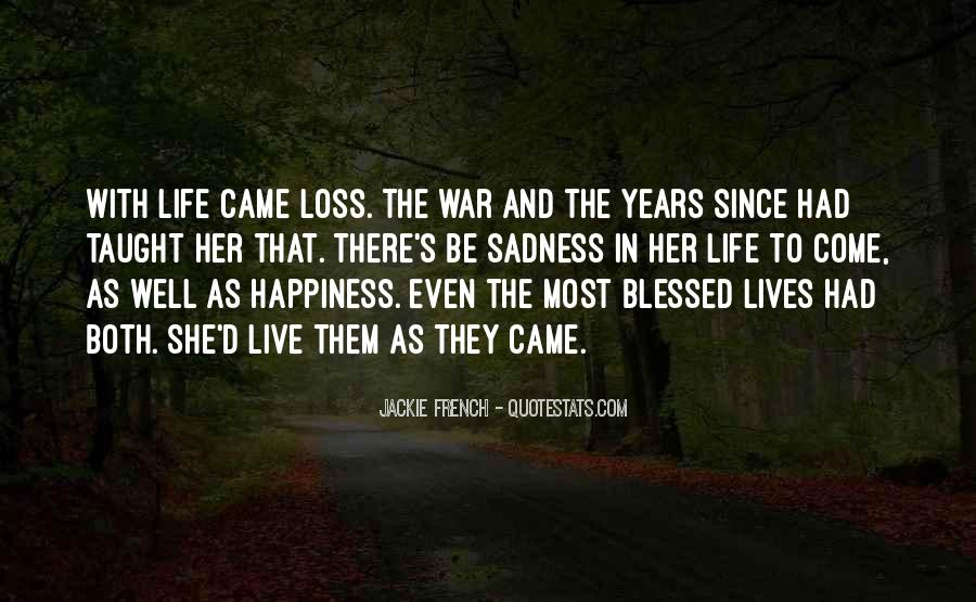 Quotes About Blessed Life #499912