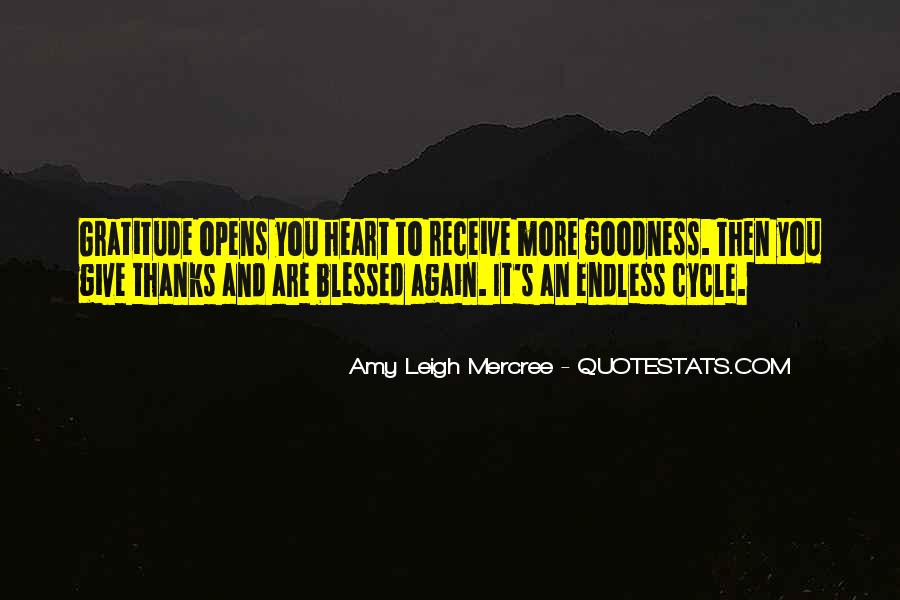 Quotes About Blessed Life #507371