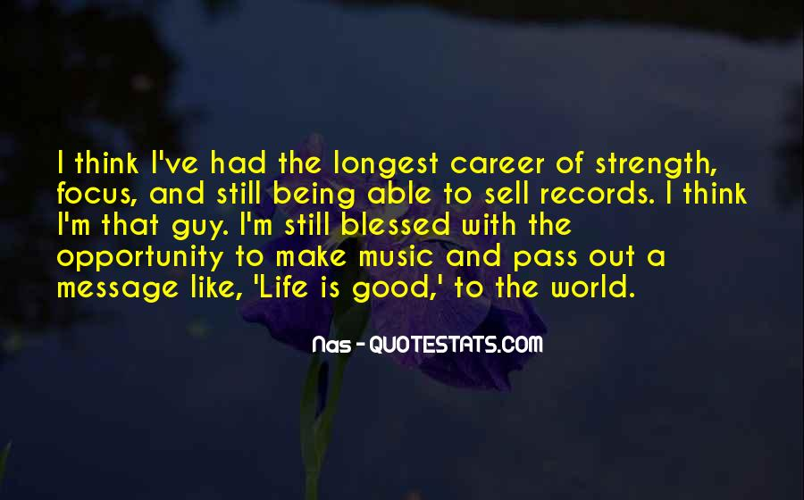 Quotes About Blessed Life #508717