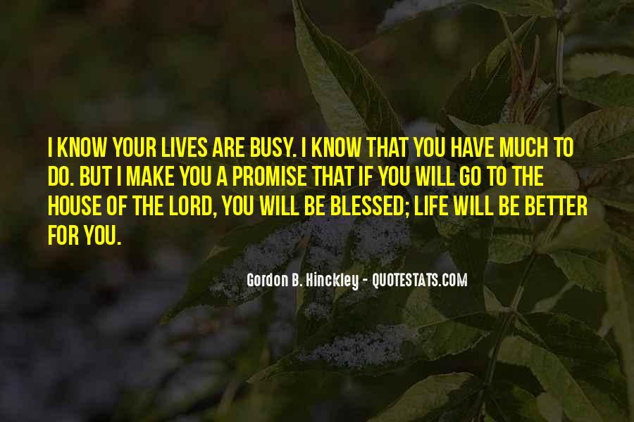 Quotes About Blessed Life #63127