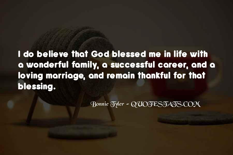 Quotes About Blessed Life #72552