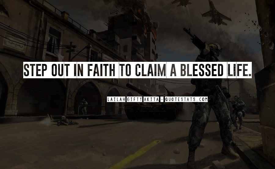 Quotes About Blessed Life #73120