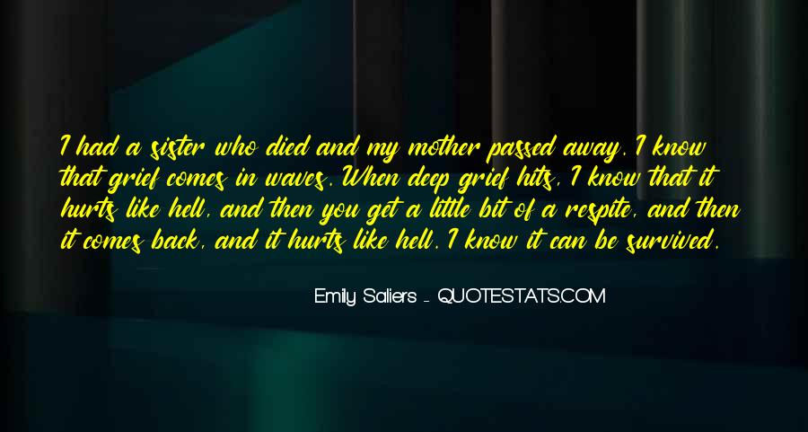 Quotes About Passed Away Sister #547563