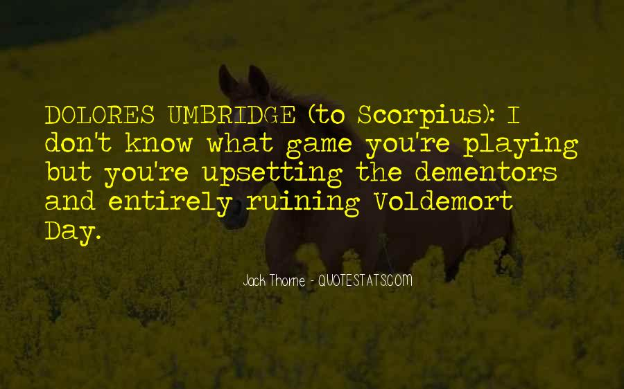 Quotes About Voldemort #113614