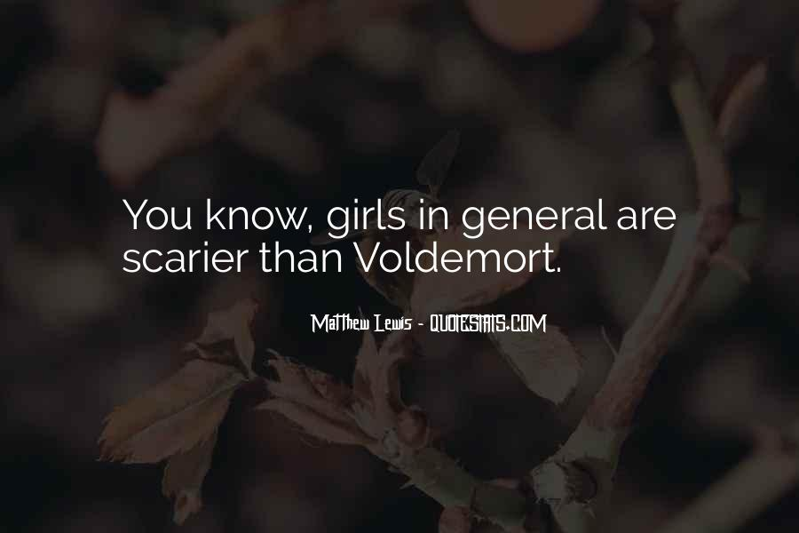 Quotes About Voldemort #1353221