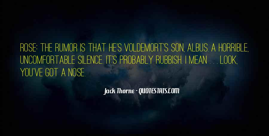 Quotes About Voldemort #1410338