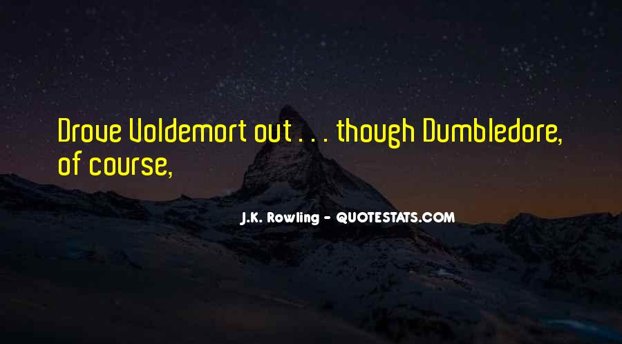 Quotes About Voldemort #1574872